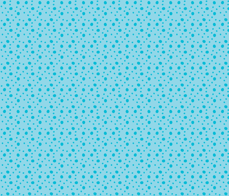 Morgan's Star Dot (Blue) fabric by robyriker on Spoonflower - custom fabric