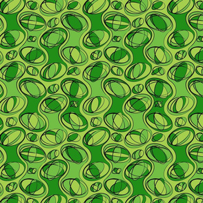 Retro-Geo Green