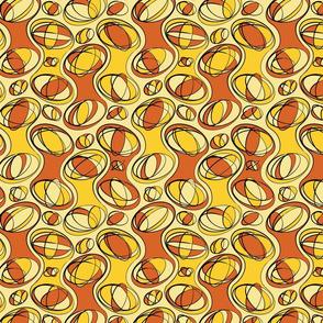 Retro-Geo Brown Yellow
