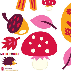 little forest wall decals