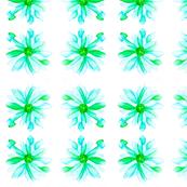 Aqua Daisies
