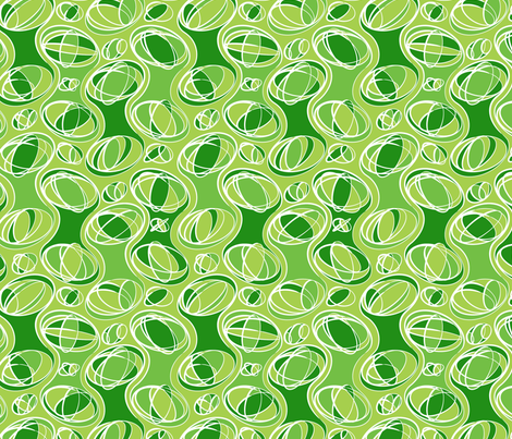 Retro-Geo Green2 fabric by jmckinniss on Spoonflower - custom fabric