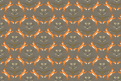 foxen small fabric by holli_zollinger on Spoonflower - custom fabric