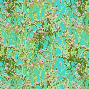 skopelos flowers aqua