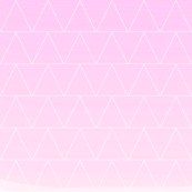 powder pink triangle