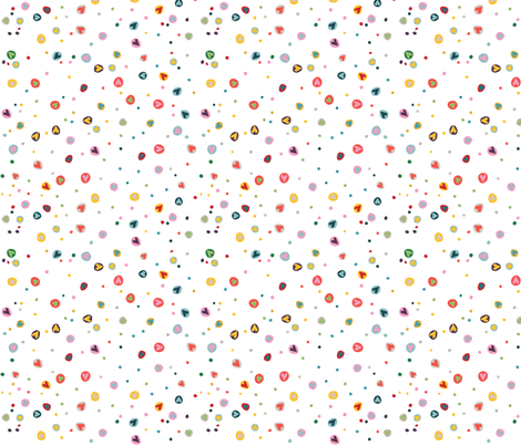 wonky_hearts fabric by pragya_k on Spoonflower - custom fabric