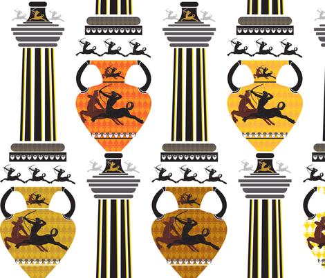 CentaurPiece fabric by paula's_designs on Spoonflower - custom fabric