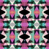 Tribal Fun Violet Mint