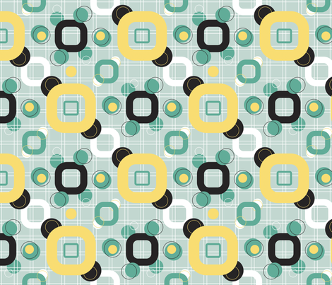 MOD_60s fabric by beverlyjane on Spoonflower - custom fabric
