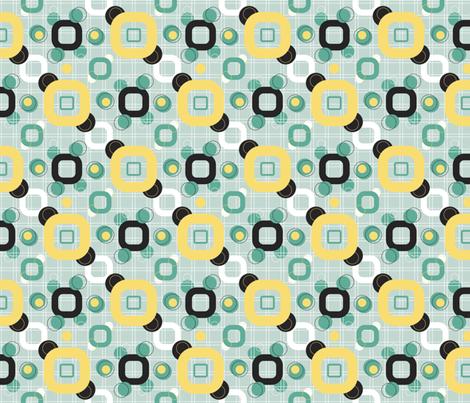 MOD_60s fabric by beverlyjane on Spoonflower - custom fabric