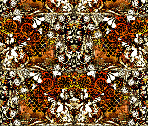 A Midsummers Night Dream fabric by whimzwhirled on Spoonflower - custom fabric