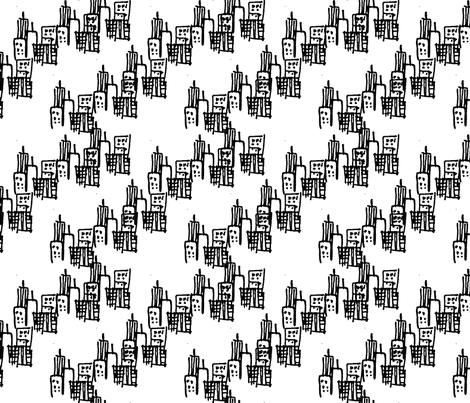 City fabric by aimeeguzman on Spoonflower - custom fabric