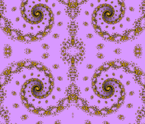 Palatial Portal - Purple fabric by xx_rapunzel_xx on Spoonflower - custom fabric