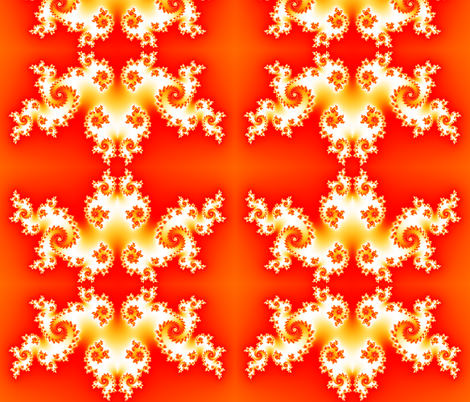Flames - Red fabric by xx_rapunzel_xx on Spoonflower - custom fabric