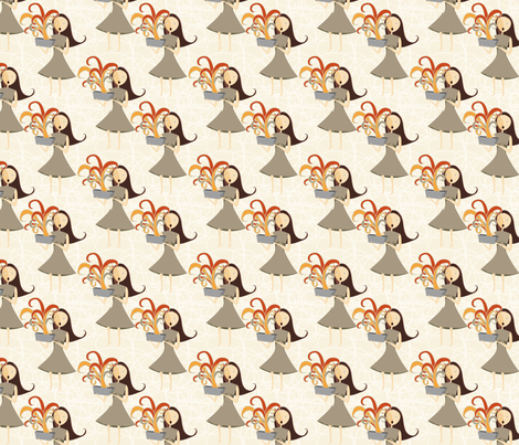 Pandora Opening the Box fabric by meg56003 on Spoonflower - custom fabric