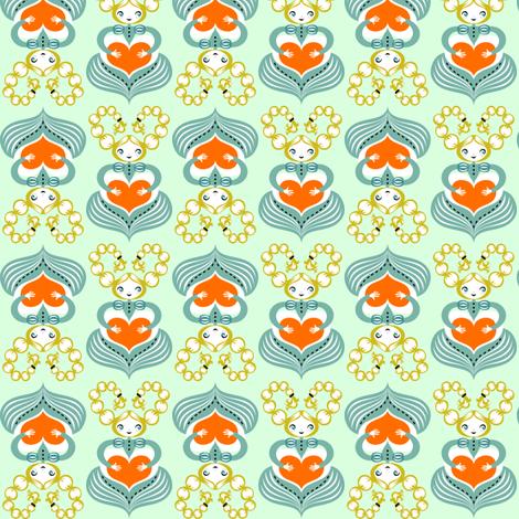 trecce fabric by gaiamarfurt on Spoonflower - custom fabric