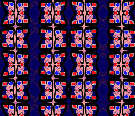 modlady3 fabric by kayross on Spoonflower - custom fabric