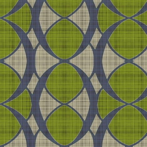 Mod Acantus fabric by lizartelier on Spoonflower - custom fabric