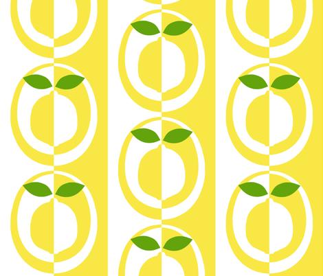 mod_lemon fabric by victorialasher on Spoonflower - custom fabric