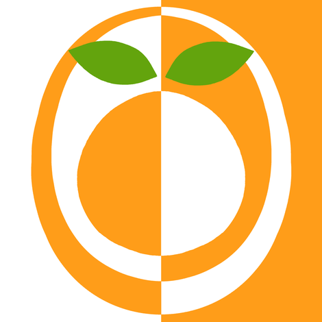 mod_orange fabric by victorialasher on Spoonflower - custom fabric