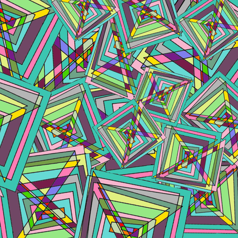 Geometric Doodle fabric by amy_g on Spoonflower - custom fabric