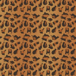 kitty cat leopard animal print - tiger