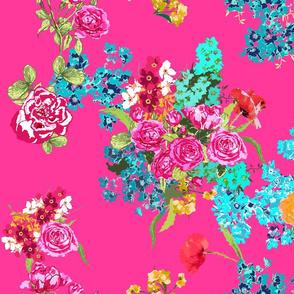 pink floral bouqet