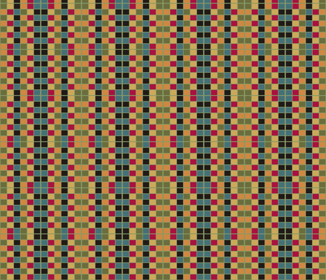 Folksy_Window_Plaid fabric by kelly_a on Spoonflower - custom fabric