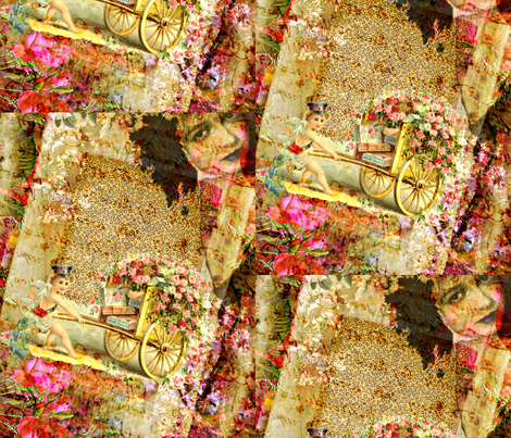 The Uphill Battle fabric by whimzwhirled on Spoonflower - custom fabric