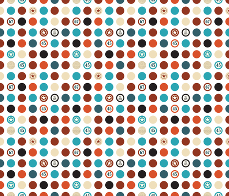 Dots, est. 1929 fabric by els_vlieger_illustrations on Spoonflower - custom fabric