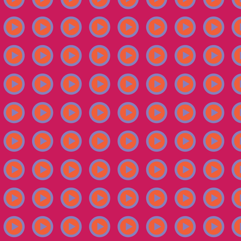 Play Array Red fabric by spellstone on Spoonflower - custom fabric