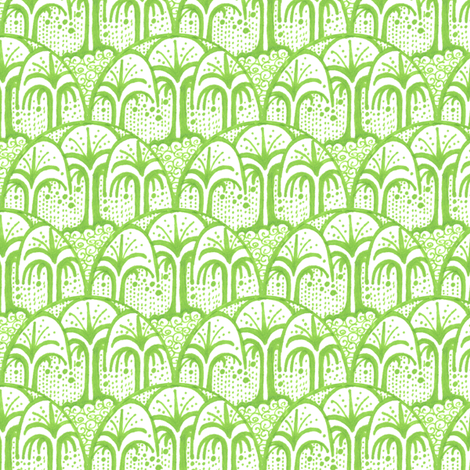 Living Earth fabric by siya on Spoonflower - custom fabric
