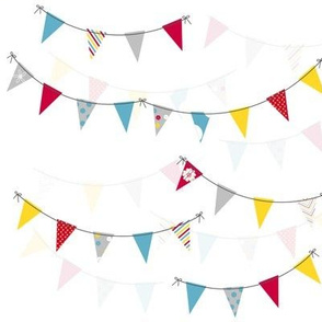 Summer Party Bunting! - Sweet Birds of Summer - Summer Party! - © PinkSodaPop 4ComputerHeaven.com