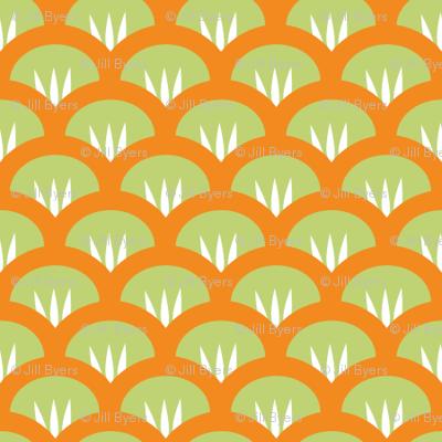 Suzy Woozy green orange