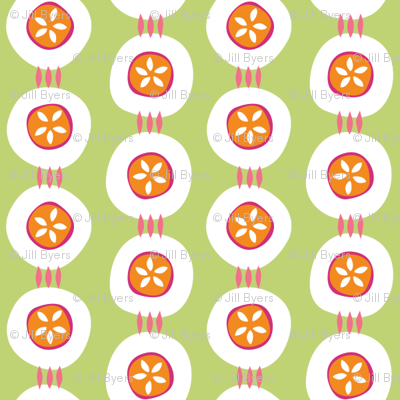 Citrus Buttons green