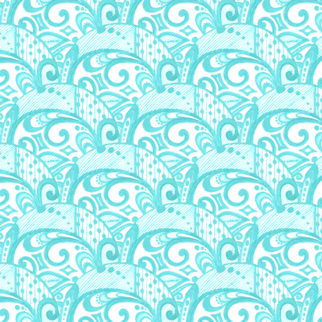 Elyria Swirls fabric by siya on Spoonflower - custom fabric
