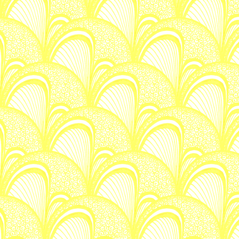 Buttercup Irene fabric by siya on Spoonflower - custom fabric