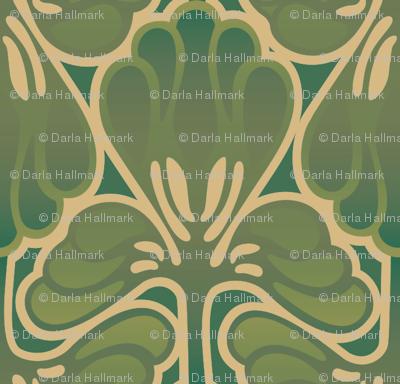 Art Nouveau Camo Fantasy