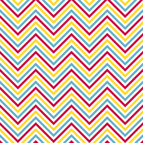 Chevron Stripes! - Sweet Birds of Summer - Summer Party - © PinkSodaPop 4ComputerHeaven.com fabric by pinksodapop on Spoonflower - custom fabric