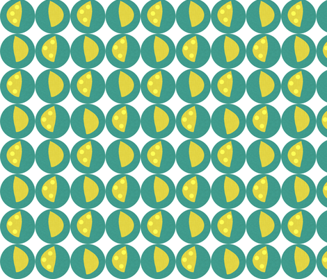 Lemon Zest fabric by arttreedesigns on Spoonflower - custom fabric
