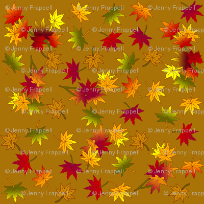 Autumn Leaves in Caramel ©indigodaze 2013