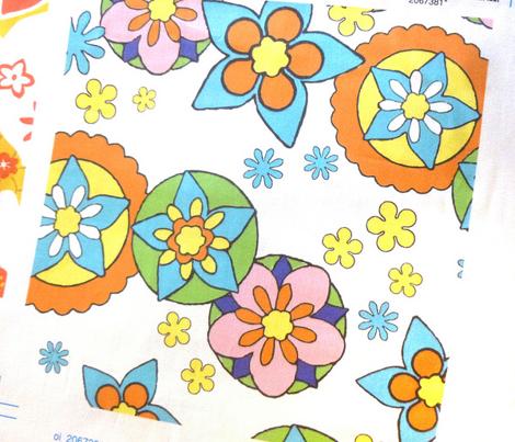 Mod Flowers Bright