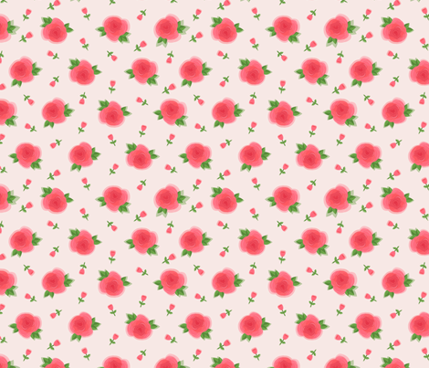 roses fabric by dinaramay on Spoonflower - custom fabric