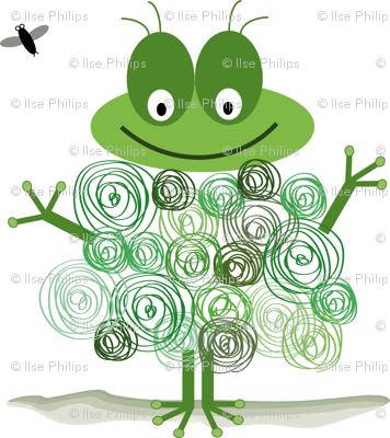 Circle frog