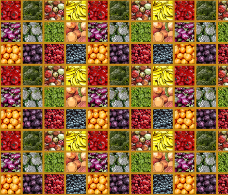 FarmersMarket fabric by mammajamma on Spoonflower - custom fabric