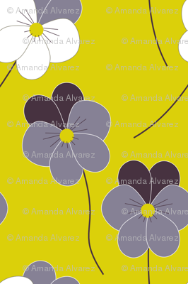 Love-in-idleness (pansies)
