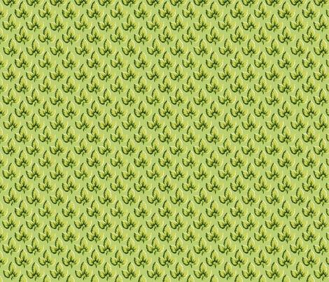 Pear_Green_Leaf fabric by kelly_a on Spoonflower - custom fabric