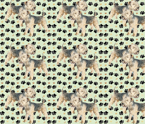 Lakeland_Terriers fabric by dogdaze_ on Spoonflower - custom fabric