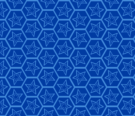 bee spacey fabric by keweenawchris on Spoonflower - custom fabric