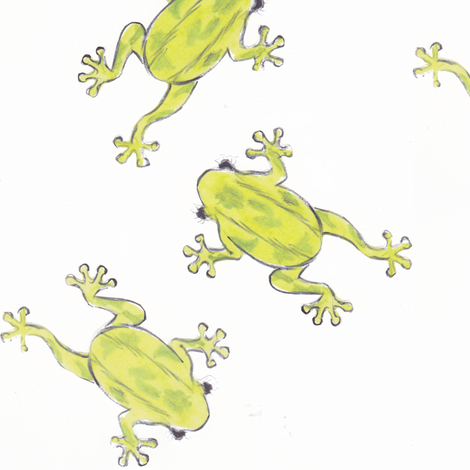 three_frogs fabric by my_cayenne on Spoonflower - custom fabric